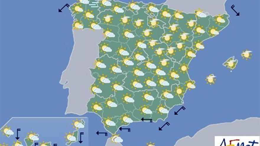 Hoy, bajada de termómetros en Andalucía y Canarias y tormentas en noroeste