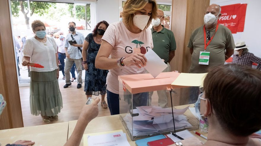 "Susana Díaz: ""Hoy, votos en andaluz, y desde mañana a derrotar a la derecha"""