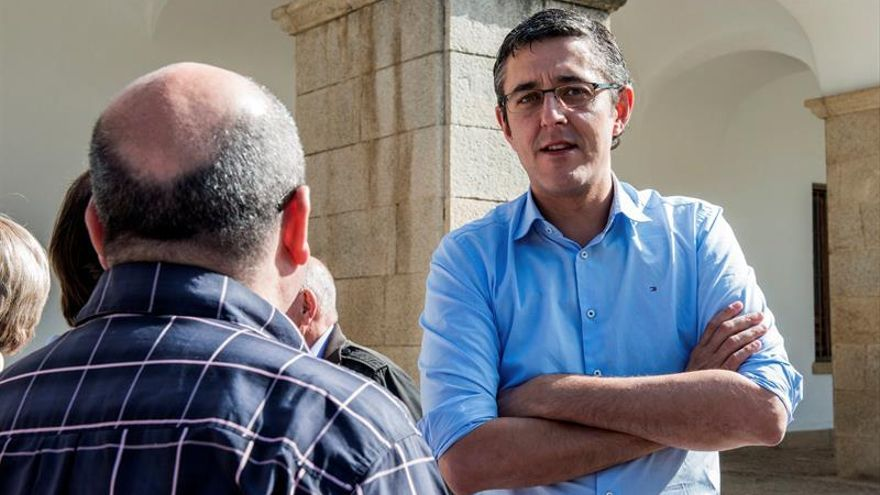 Madina: Es obvio que el PSOE ha obtenido el peor resultado de su historia