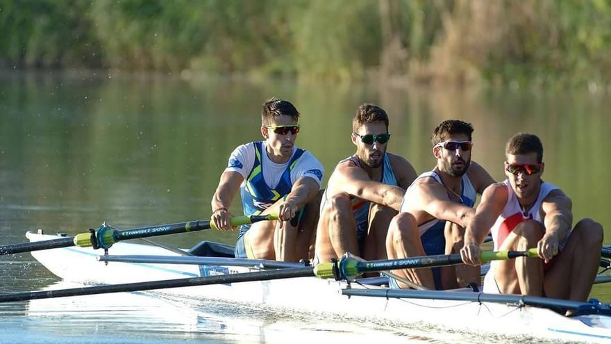 El cuatro sin timonel de España, con tres andaluces en su formación