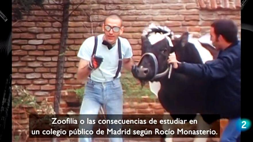 'Cachitos' dedicó uno de sus rótulos a la dirigente de Vox Rocío Monasterio