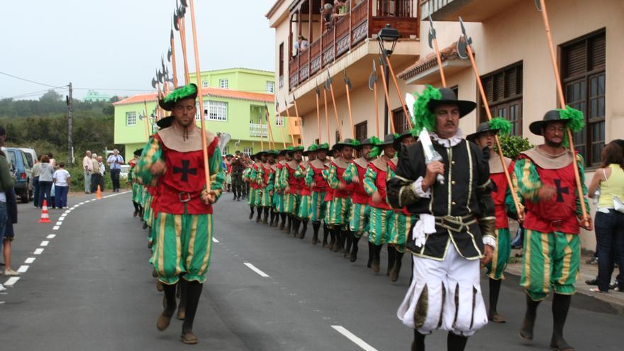 Desfile de la representación de la 'Batalla de Lepanto'.