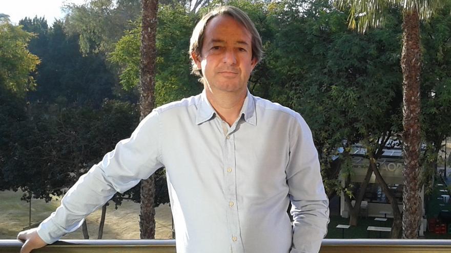 Francisco Turrión, hidrogeólogo de la Confederación Hidrográfica del Segura
