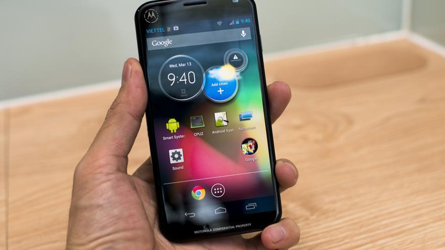 Imagen del Moto X filtrada por un blog vietnamita (Foto: Tinh tế)