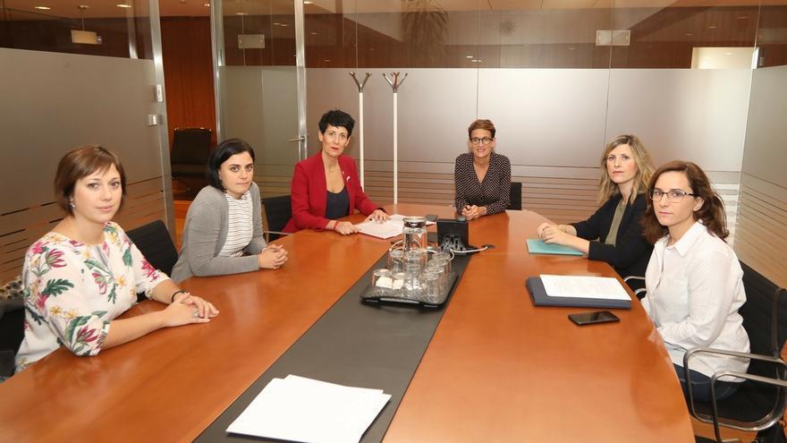 """Las madres del IRPF, """"decepcionadas"""" y """"cabreadas"""" con el Gobierno de Navarra por descartar la exención"""