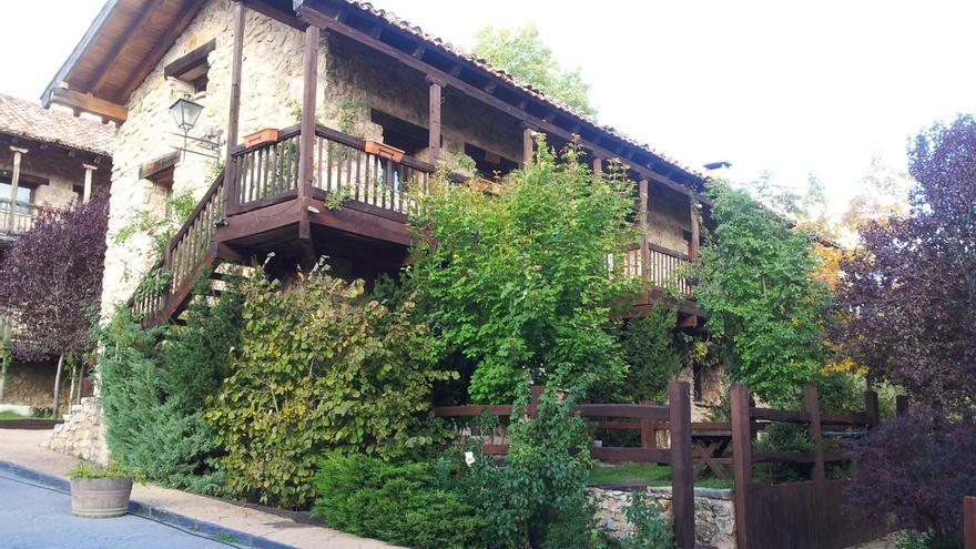 Casa Rural 'Acebos del Tajo' en Peralejos de las Truchas (Guadalajara)