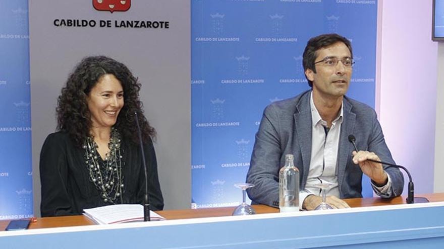 Ariagona González y Pedro San Ginés