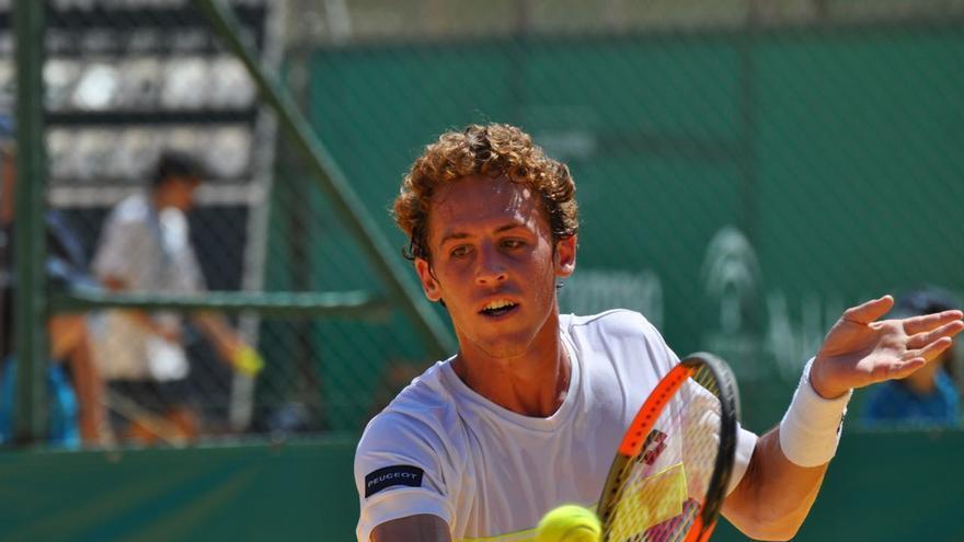 El joven granadino Roberto Carballés, el tenista andaluz mejor clasificado en la ATP