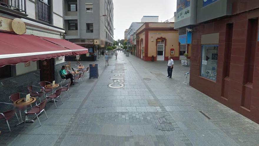 Calle Ripoche en Las Palmas de Gran Canaria