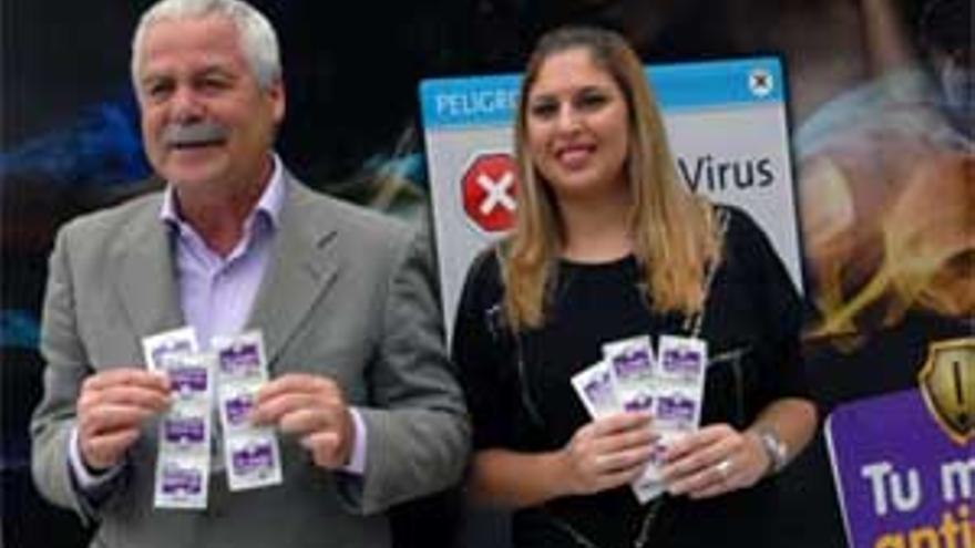 Roque Diaz e Isabel Mena. (ACFI PRESS)