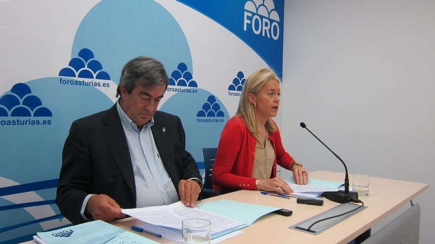 Cascos recalca que los votos de Foro se han ido a Podemos y no al PP, que solo ha subido un 0,05%