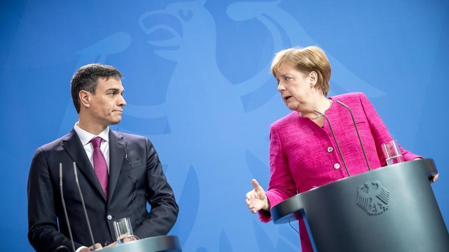 Sánchez y Merkel debaten este sábado la política de migración en Doñana