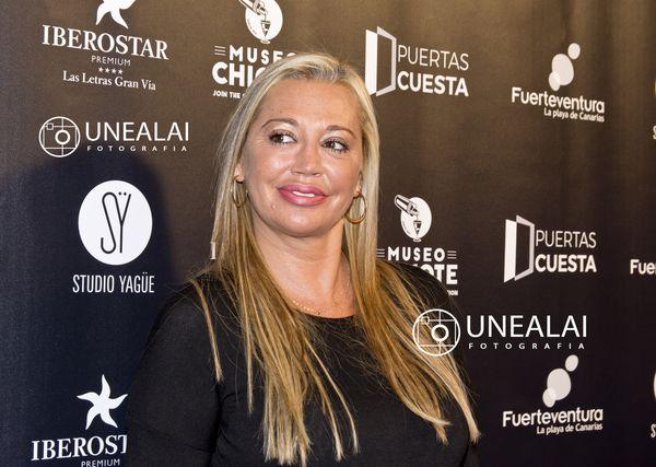 Belén Esteban en los III Premios Chicote | Fotografía: UNEALAI