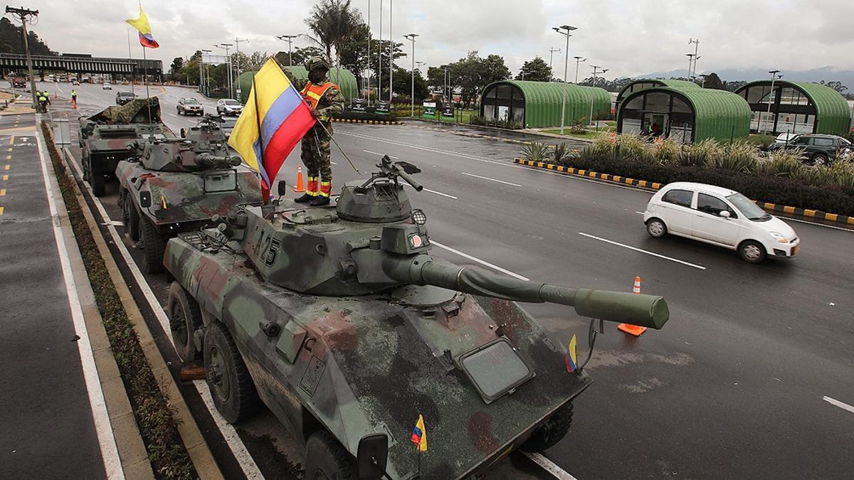 Las protestas se suceden en todos los puntos neurálgicos de Colombia.