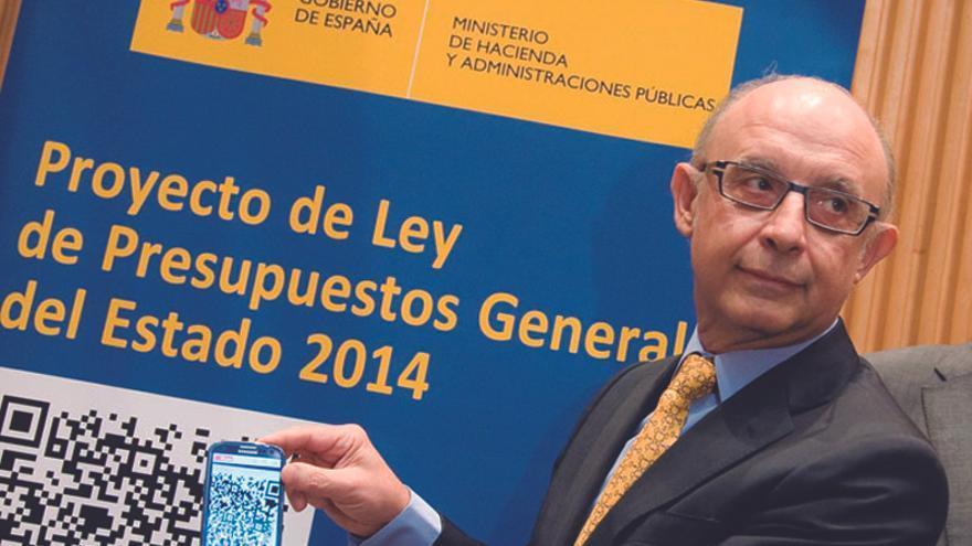 Cristóbal Montoro muestra las cuentas del Estado para 2014