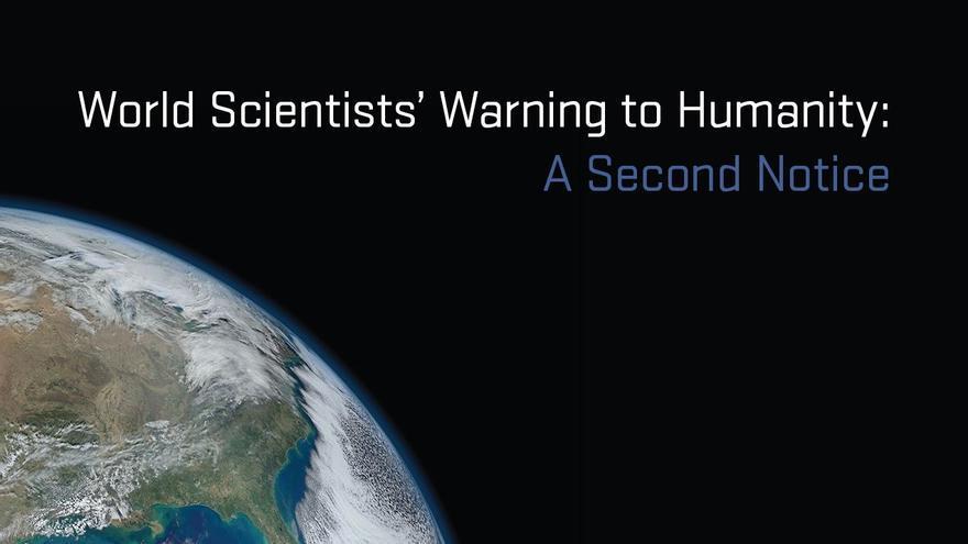 Segundo aviso de los cientificos a la humanidad