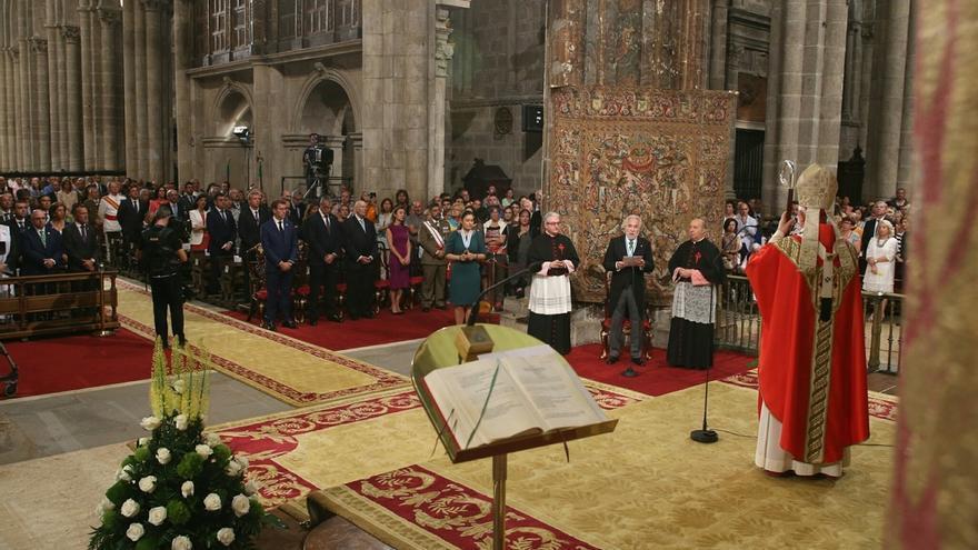 """Las peticiones por el """"diálogo"""" entre gobernantes y el terrorismo protagonizan la Ofrenda al Apóstol Santiago"""