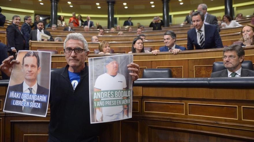 El Congreso deja en el aire un posible apercibimiento a Cañamero por falta de unanimidad