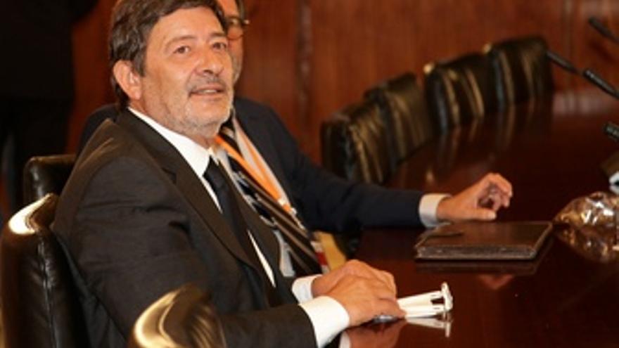 Francisco Javier Guerrero, ante la comisión de los ERE