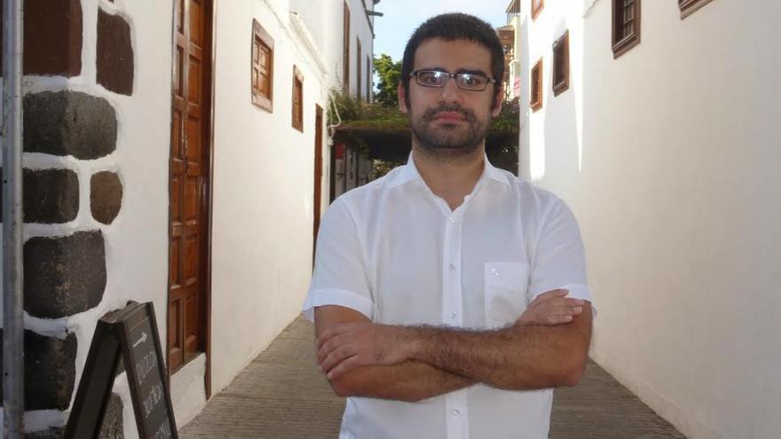 Felipe Ramos, candidato de Izquierda Unida Canaria a la Alcaldía de Los Llanos de Aridane
