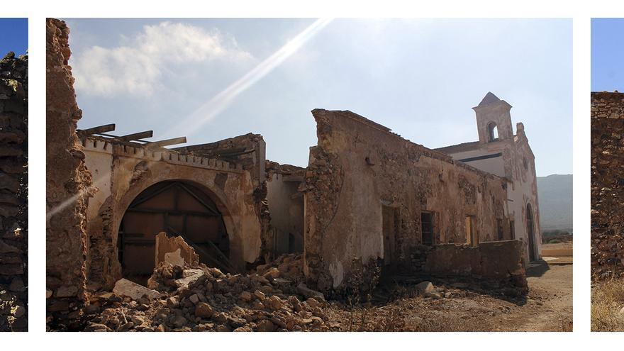 El que fuera escenario y preludio del Crimen de Níjar, en estado ruinoso. / JUAN MIGUEL BAQUERO