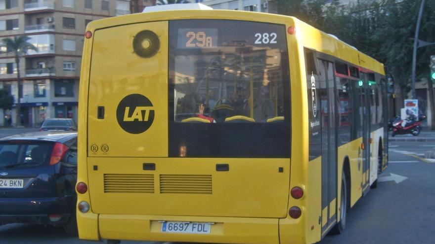 Se suspende temporalmente el servicio especial de la línea 39 de Autobuses LAT