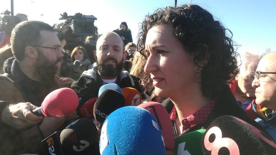 """Rovira exige desde Estremera la liberación de Junqueras y ve al Estado """"demofóbico"""""""