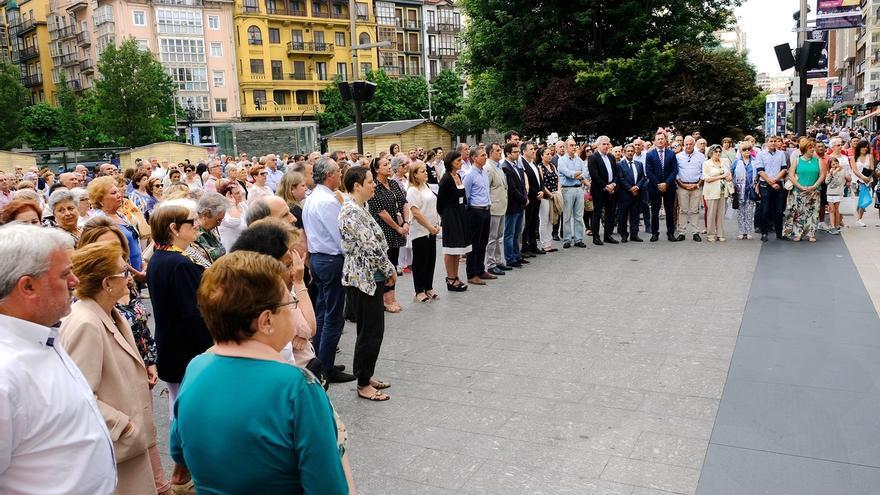 Santander recuerda a Miguel Ángel Blanco en el 20 aniversario de su asesinato
