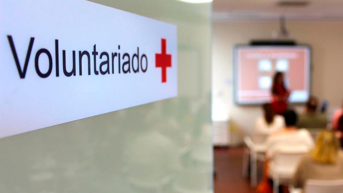 Voluntariado de Cruz Roja.