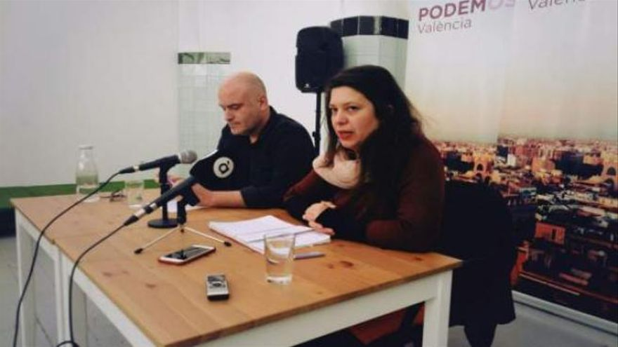 Lidia Montero, candidata a liderar Podem, en una imagen de archivo.