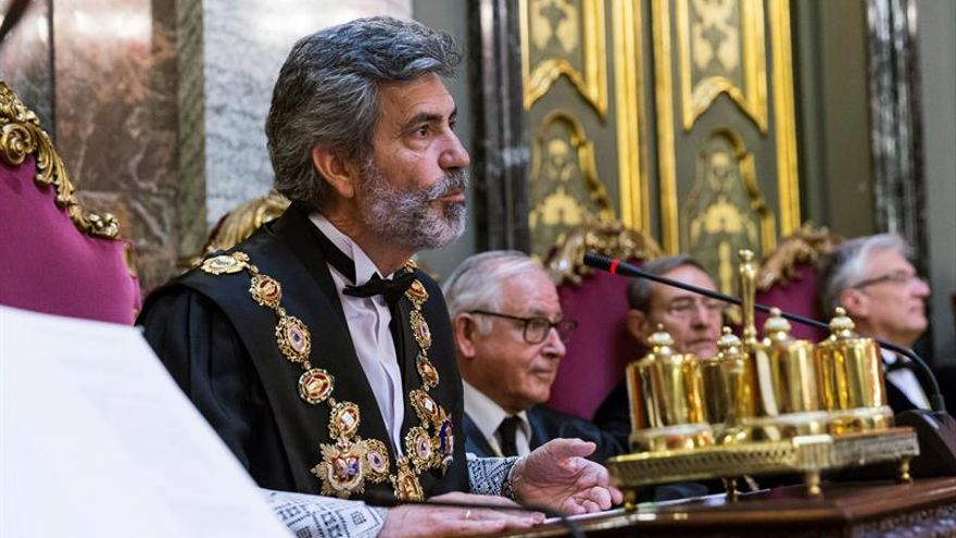 """Las asociaciones de jueces: """"Carece de sentido"""" pedir la dimisión de Lesmes"""