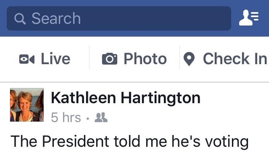Captura de pantalla del Facebook de Kathleen Kennedy Townsend // Facebook
