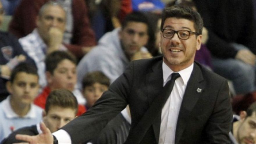 Resultado de imagen de El entrenador del Iberostar Tenerife, Fotis Katsikaris