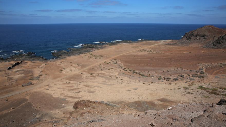 Vistas de El Confital desde la zona donde estará el mirador de Las Coloradas