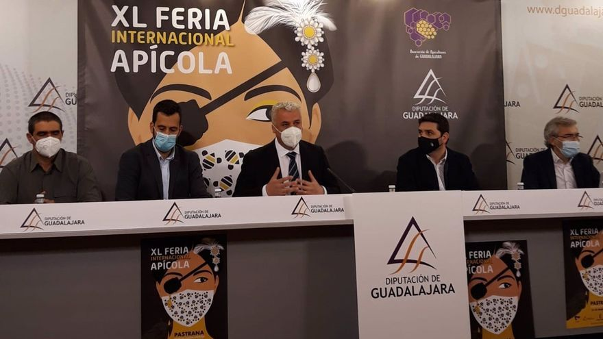 Presentación de la Feria Apícola de Pastrana