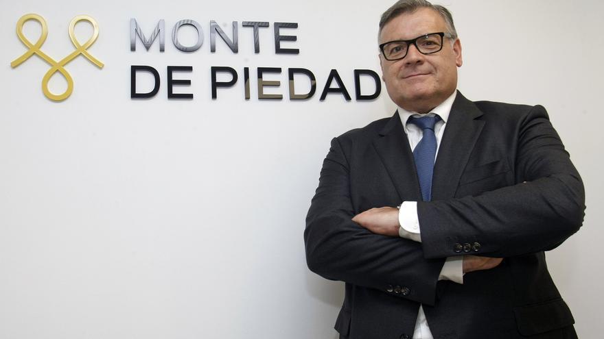 Antonio Vidal, gerente del Monte de Piedad de la Fundación Bancaja