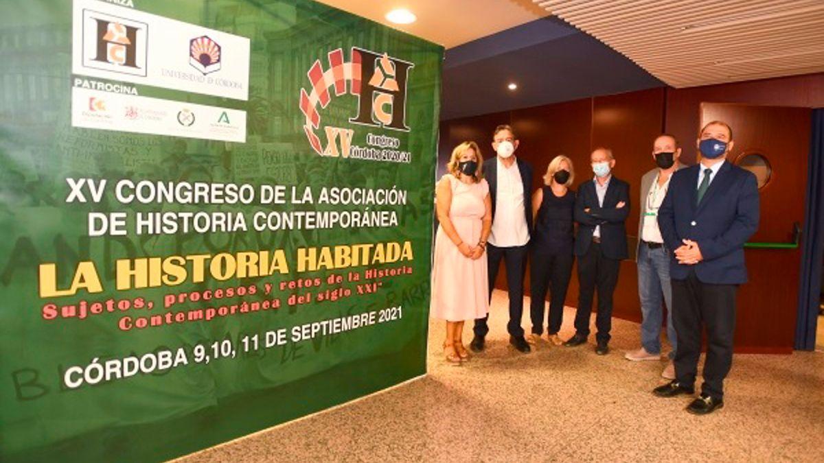 Inauguración del Congreso de Historia Contemporánea.