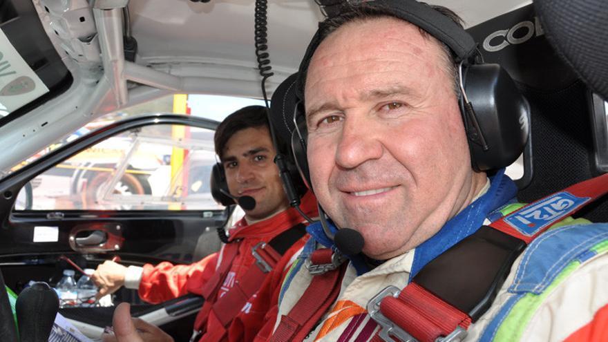 El piloto almeriense José Antonio Aznar