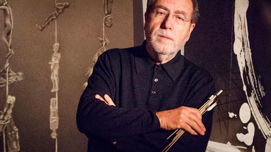 L'artista valencià Manuel Boix, guardonat amb el premi Micalet d'Honor del 2015