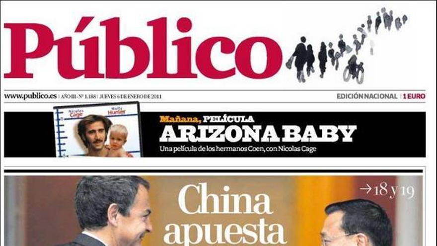 De las portadas del día (06/01/2011) #12