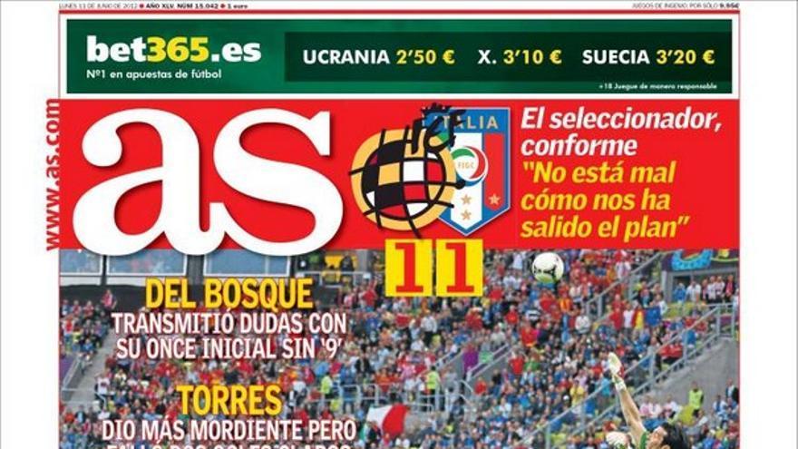 De las portadas del día (11/06/2012) #13