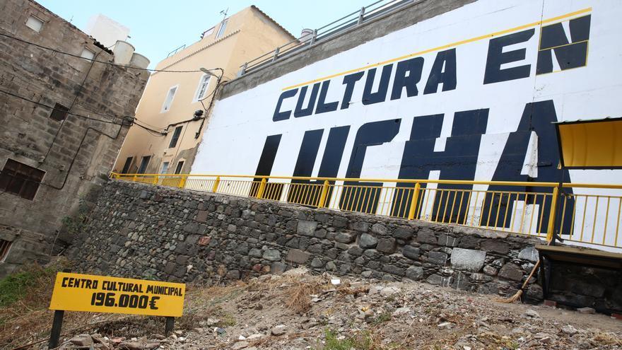 Actuación en el Risco de San Nicolás tras el encuentro Arquitectura Colectivas