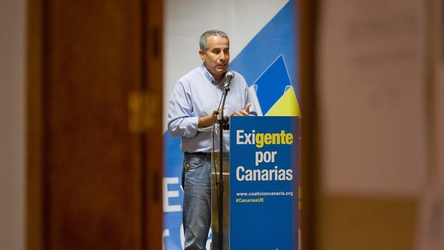Mario Cabrera, presidente del Cabildo de Fuerteventura.