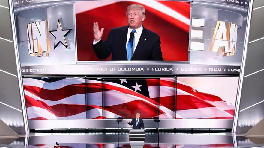 Trump será elegido hoy candidato republicano a la Presidencia de EE.UU.