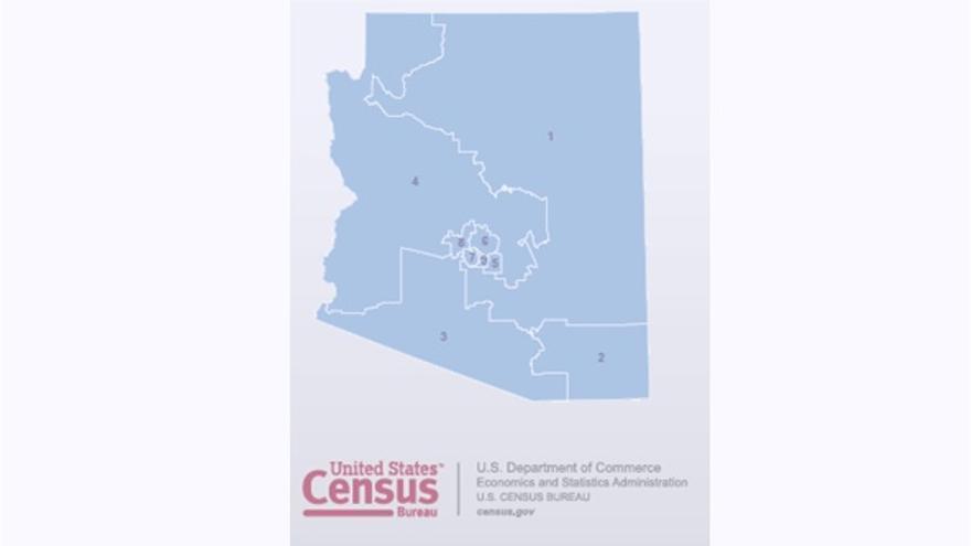 Organización de los distritos en Arizona