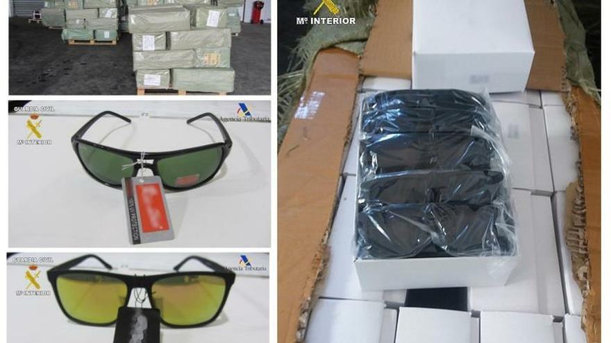 Intervenidas en el puerto de Melilla 56.000 gafas falsificadas