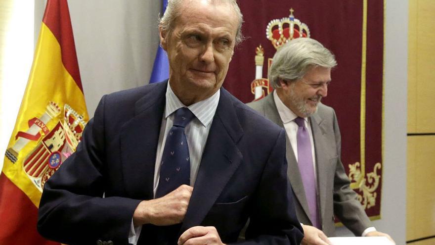 Pedro Morenés, embajador de España en Washington. (EFE).