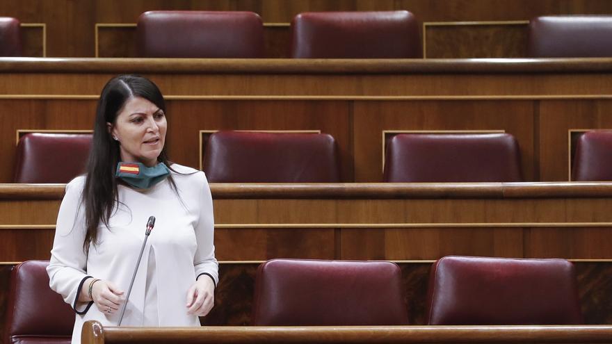 La diputada de Vox, Macarena Olona.