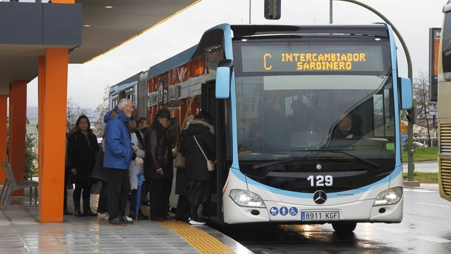 Nuevo intercambiador del Metro-TUS en Valdecilla.