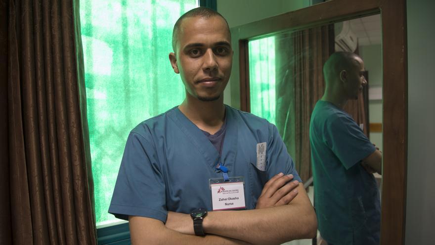 Zaher, enfermero.